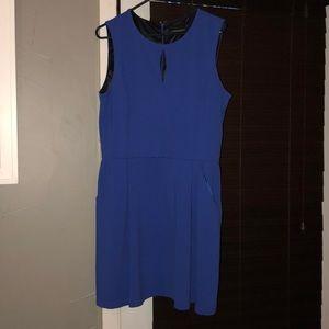 Periwinkle Blue Sleeveless Dress